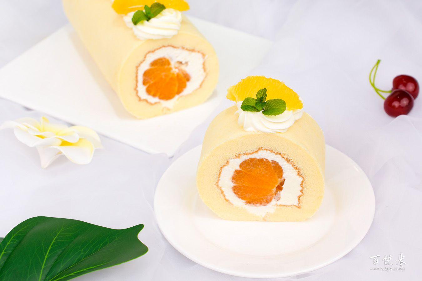 橘子卷的做法大全,橘子卷蛋糕培训图文步骤详解