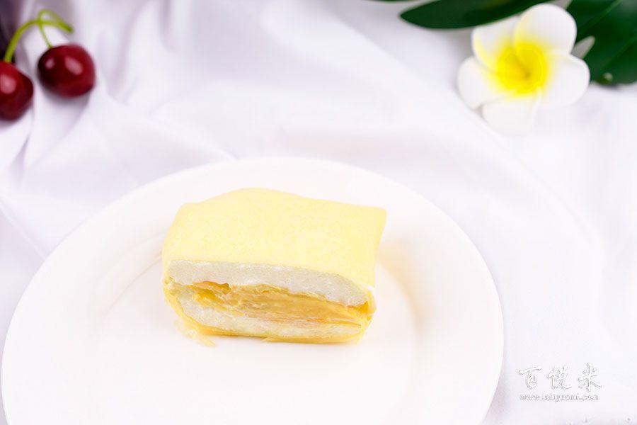 榴莲班戟甜品的做法视频大全_西点培训学习教程
