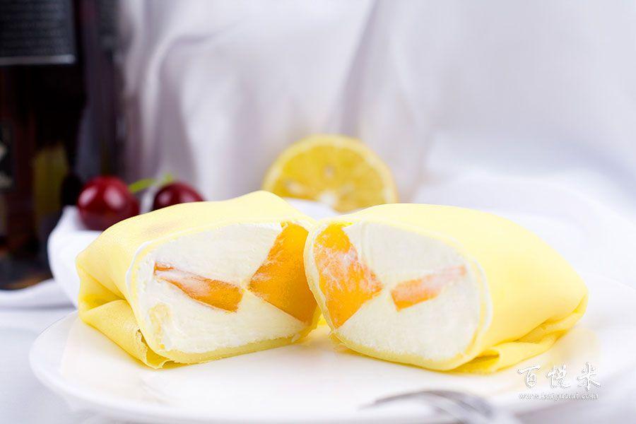 芒果班戟甜点的做法视频大全_西点培训学习教程