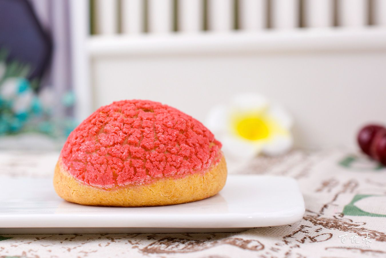 红丝绒泡芙的高清图片大全【蛋糕图片】_274