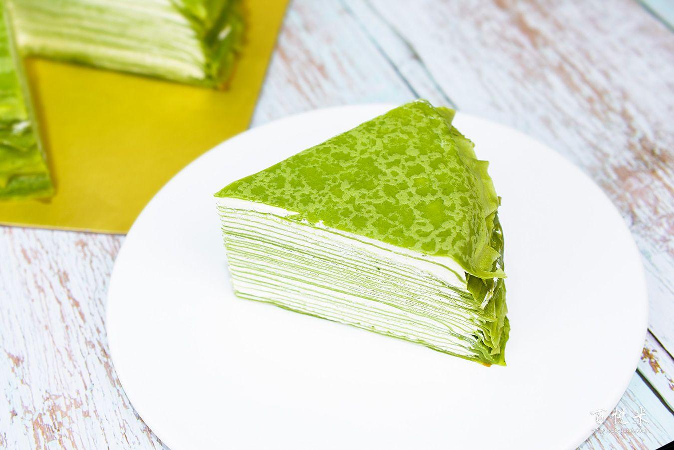 抹茶千层蛋糕的高清图片大全【蛋糕图片】_280