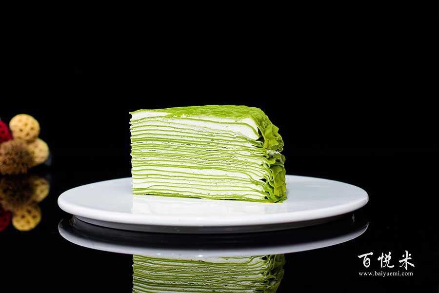 抹茶千层蛋糕的高清图片大全【蛋糕图片】