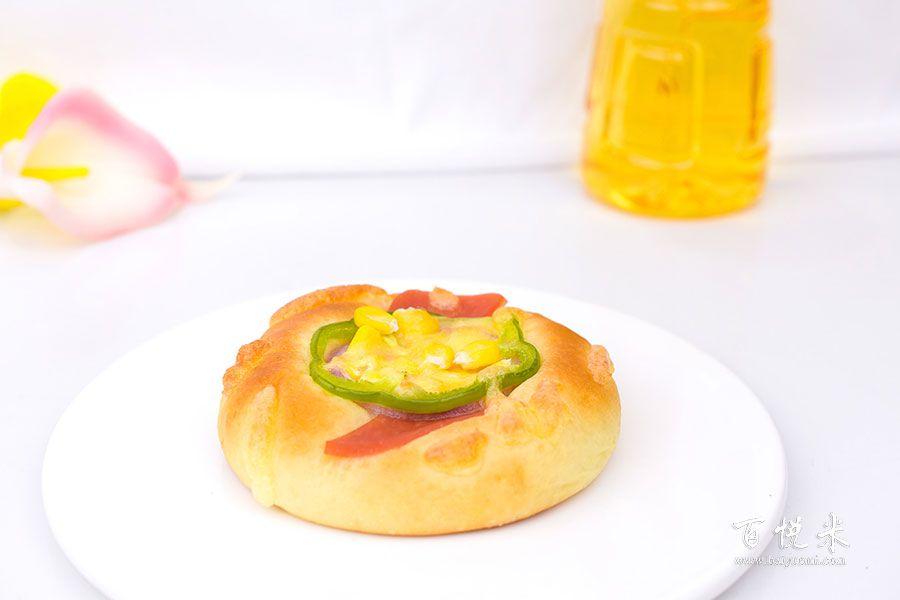 蔬菜芝士面包的做法视频大全_西点培训学习教程