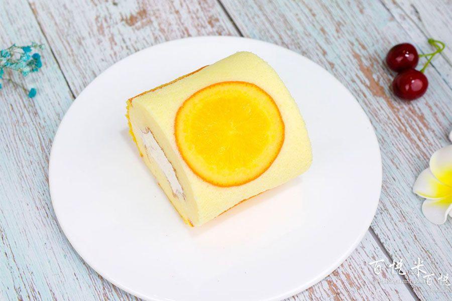 橙心橙意蛋糕卷的做法视频大全_西点培训学习教程