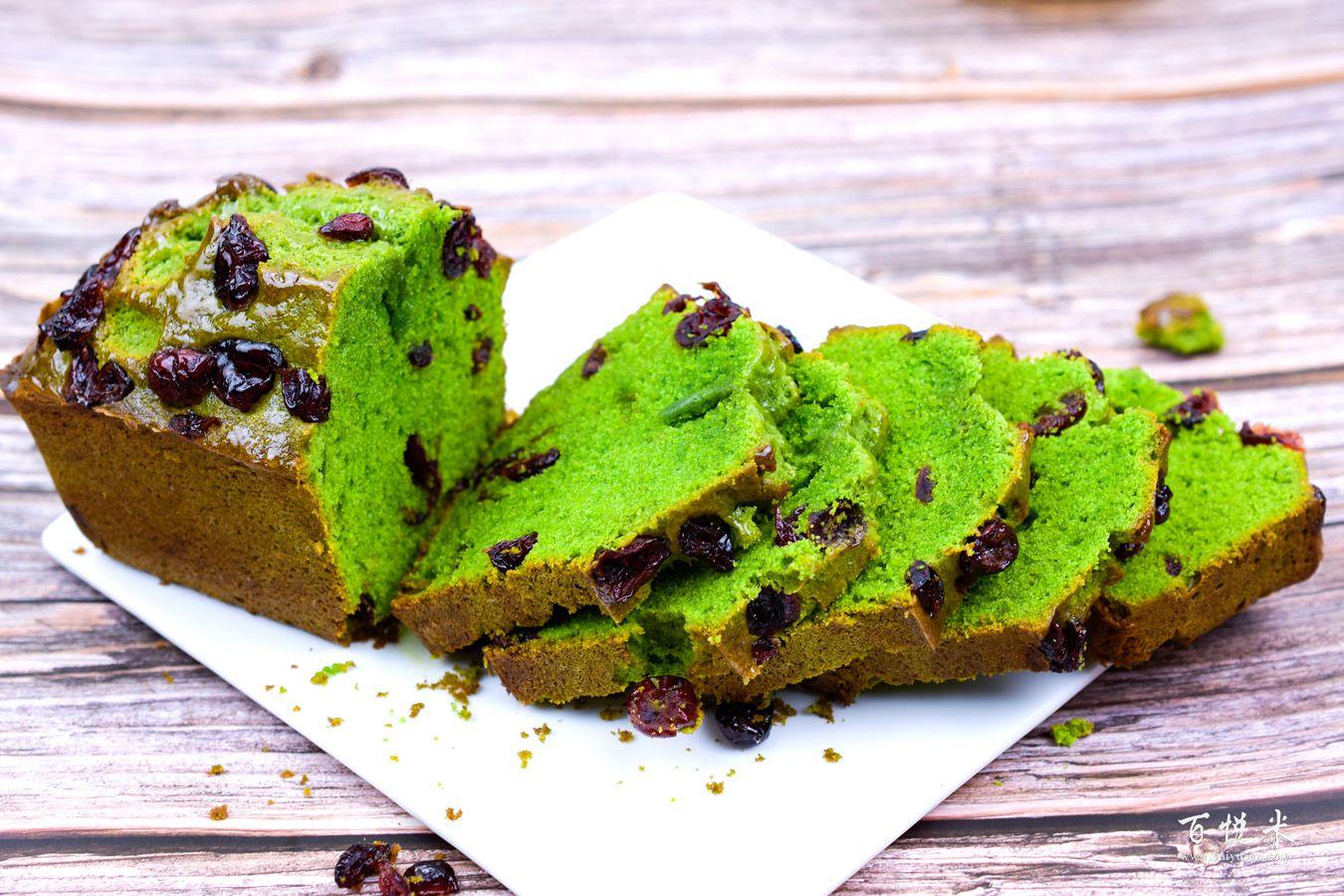抹茶蔓越莓磅蛋糕的做法大全,蛋糕培训怎么做