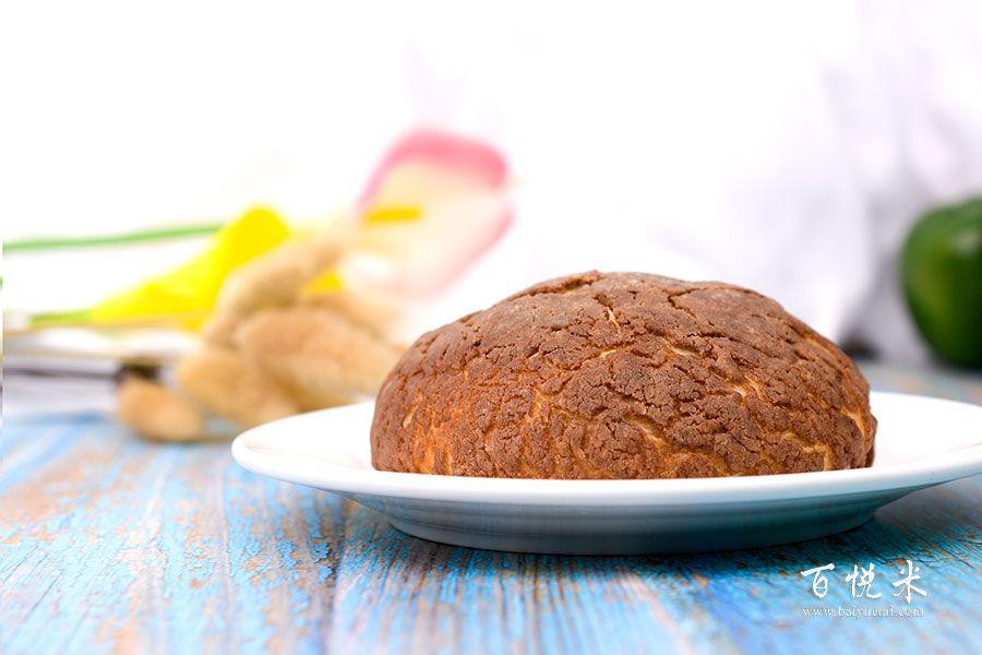 巧克力菠萝包的做法视频大全_西点培训学习教程
