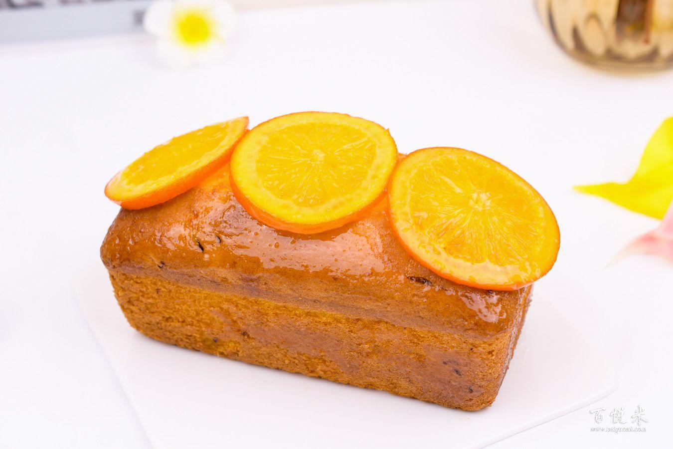 香橙磅蛋糕的做法大全,香橙磅蛋糕培训图文教程分享