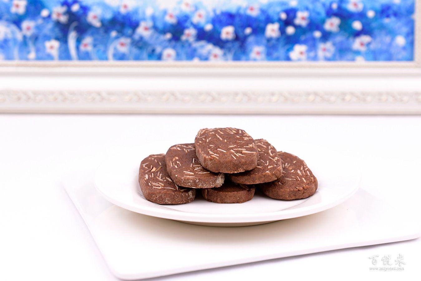 杏仁巧克力饼干高清图片大全【蛋糕图片】_346