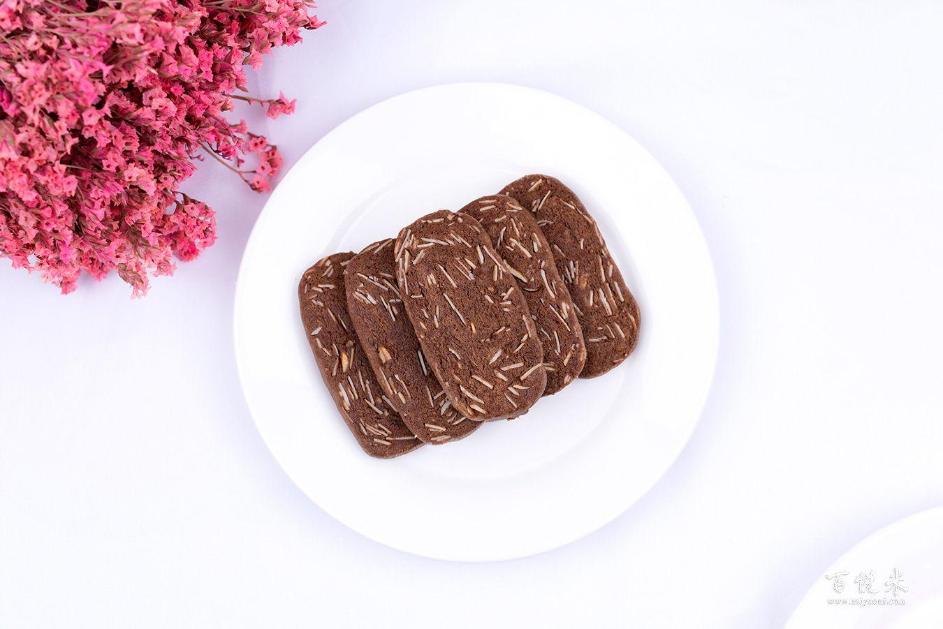 杏仁巧克力饼干高清图片大全【蛋糕图片】_347