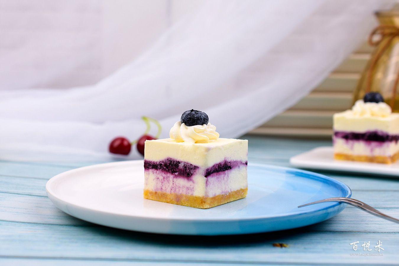 蓝莓芝士蛋糕高清图片大全【蛋糕图片】_369