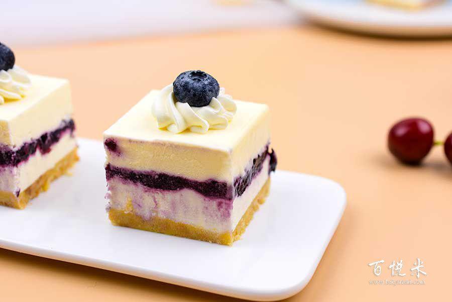 蓝莓芝士蛋糕高清图片大全【蛋糕图片】