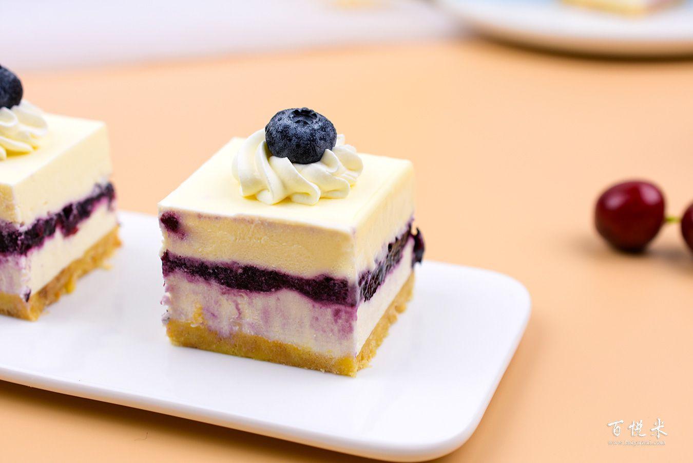 蓝莓芝士蛋糕高清图片大全【蛋糕图片】_368