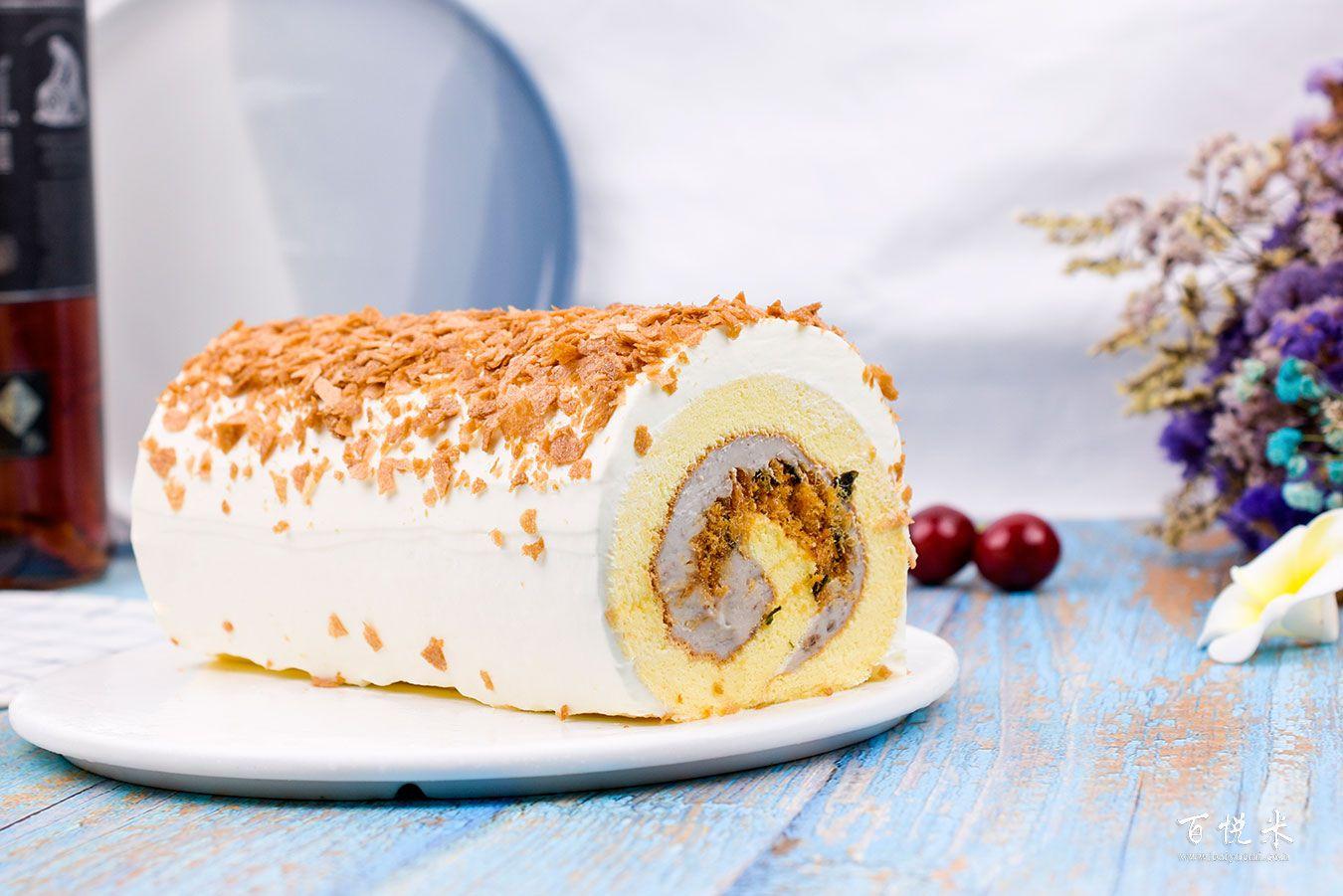 香芋蛋糕卷高清图片大全【蛋糕图片】_381