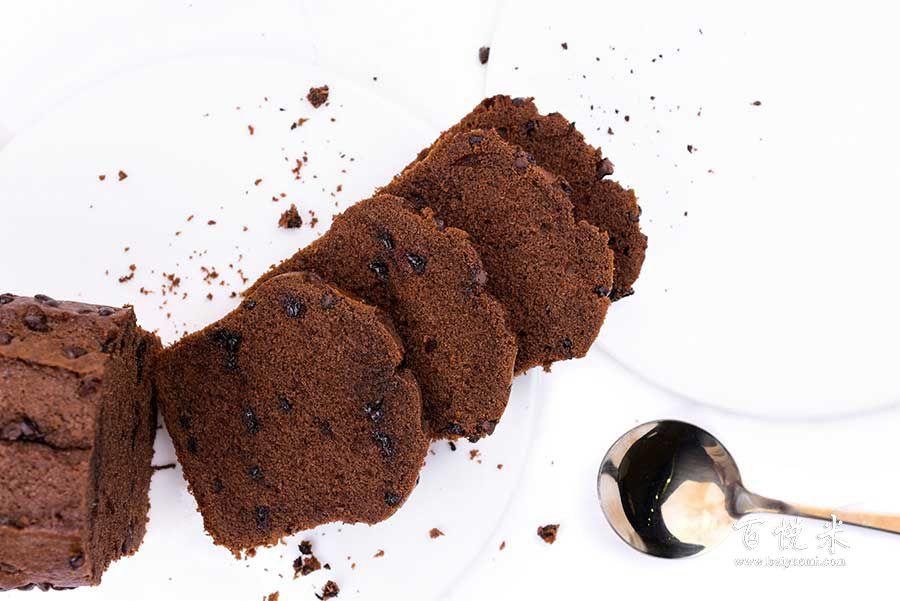 巧克力磅蛋糕的做法视频大全_西点培训学习教程