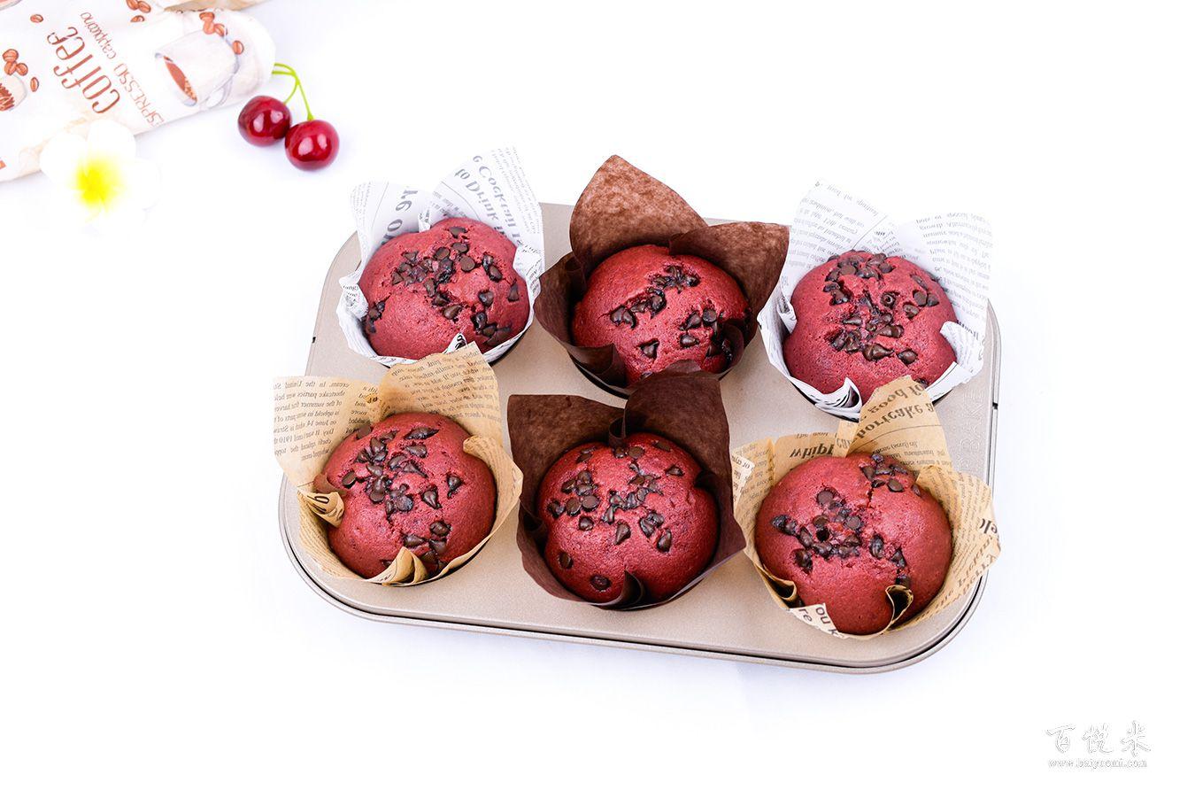 红丝绒玛德琳蛋糕高清图片大全【蛋糕图片】_398