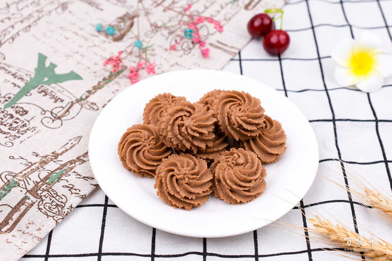 巧克力曲奇饼干的做法大全,曲奇饼干西点培训图文教程分享