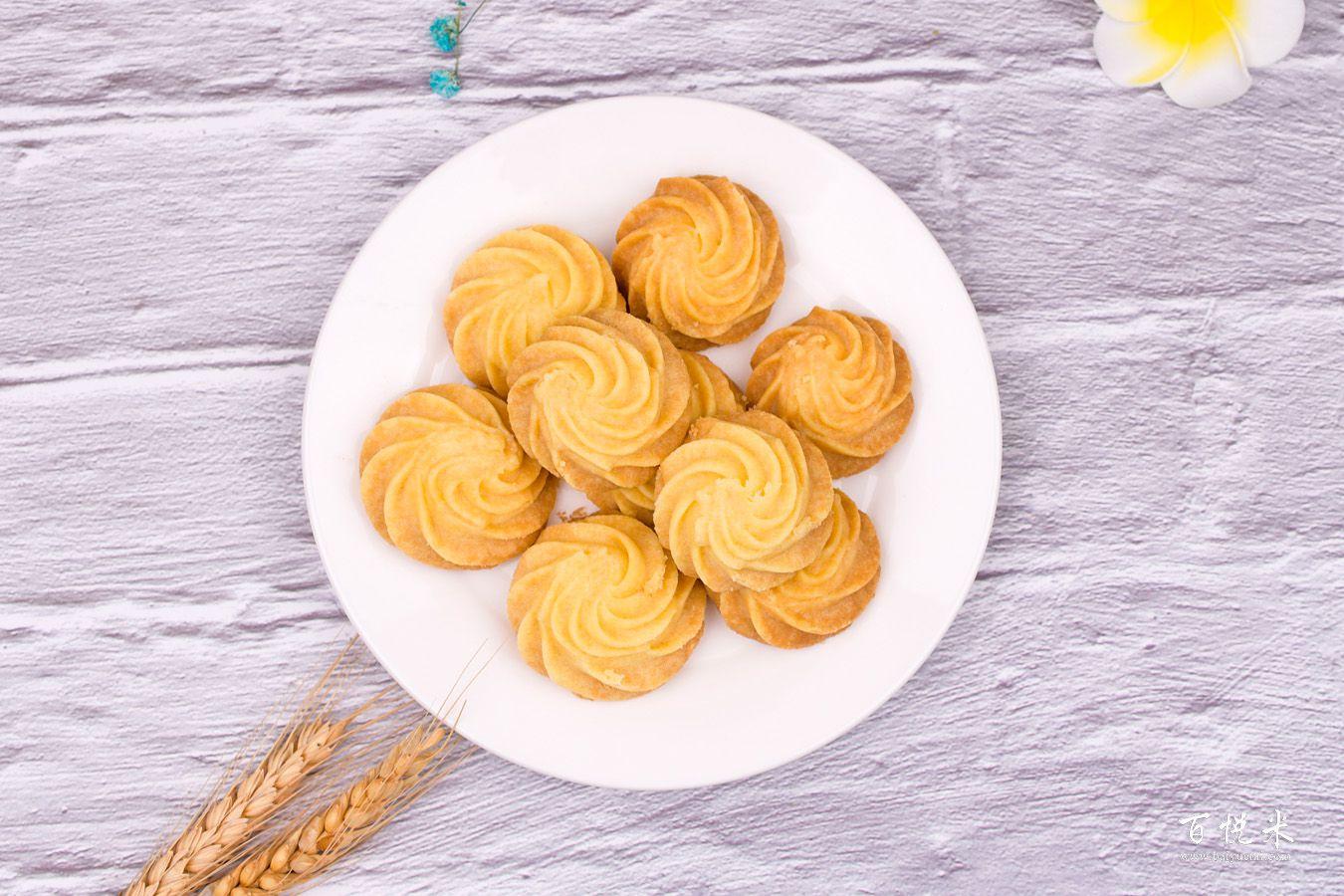 原味曲奇饼干的做法大全,曲奇饼干西点培训图文教程分享