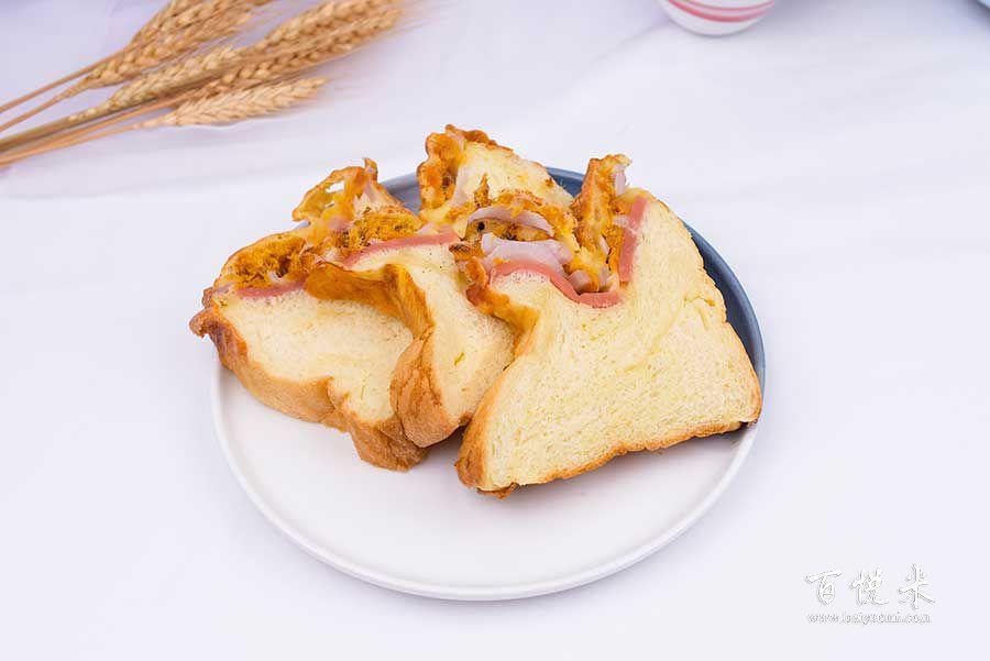 洋葱芝士吐司面包的做法视频大全_西点培训学习教程