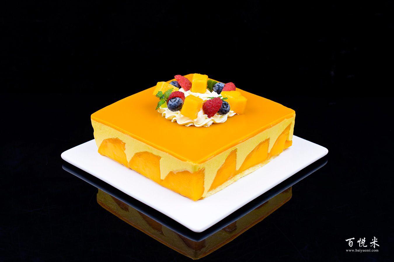 芒果慕斯蛋糕高清图片大全【蛋糕图片】_455