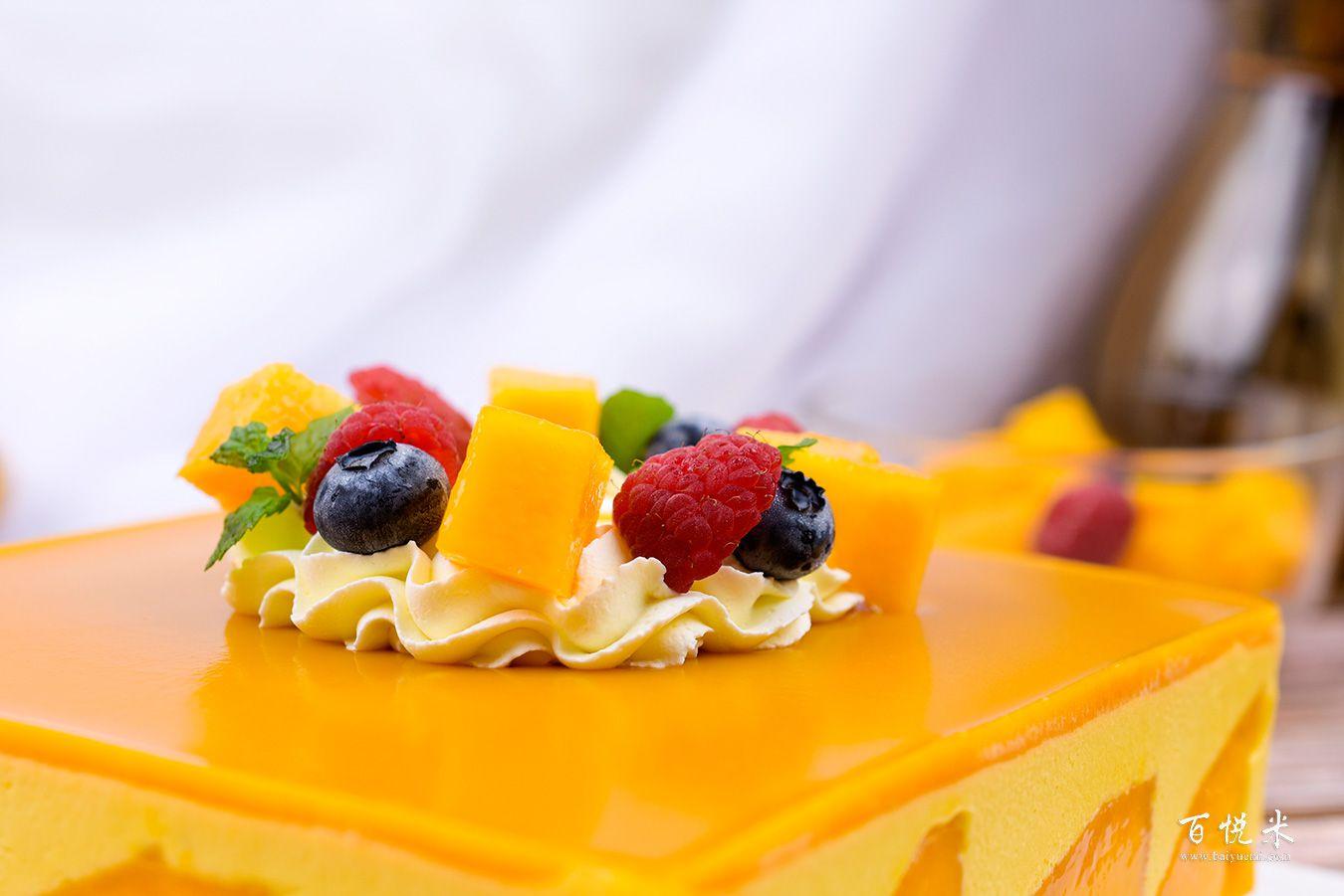芒果慕斯蛋糕高清图片大全【蛋糕图片】_459