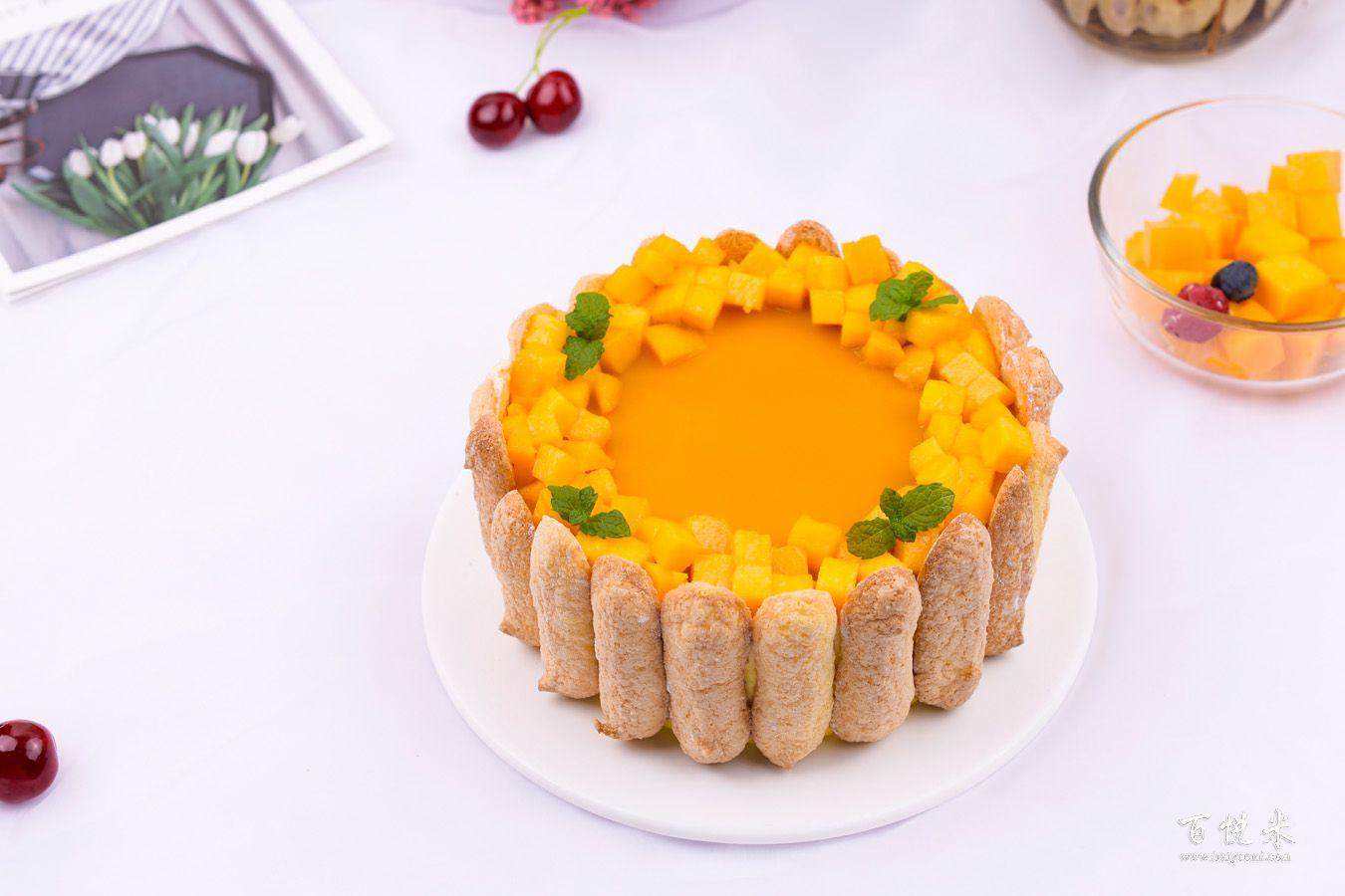 芒果夏洛特的做法大全,芒果夏洛特蛋糕培训怎么做