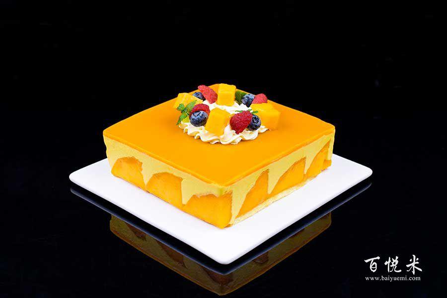 芒果慕斯蛋糕高清图片大全【蛋糕图片】