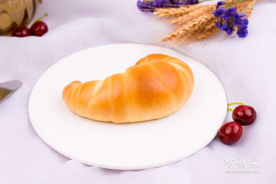 软牛角面包的做法视频大全_西点培训学习教程