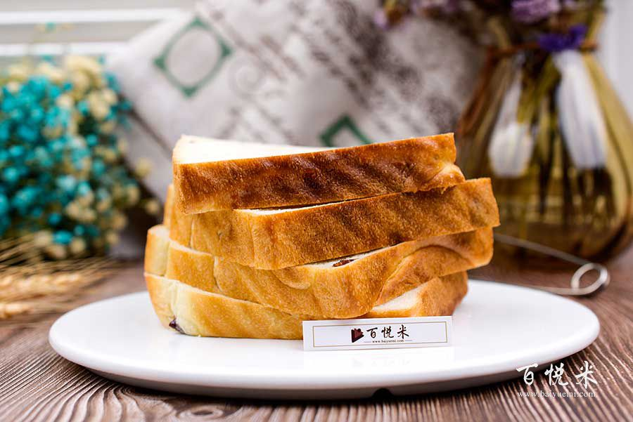 蔓越莓吐司面包高清图片大全【蛋糕图片】