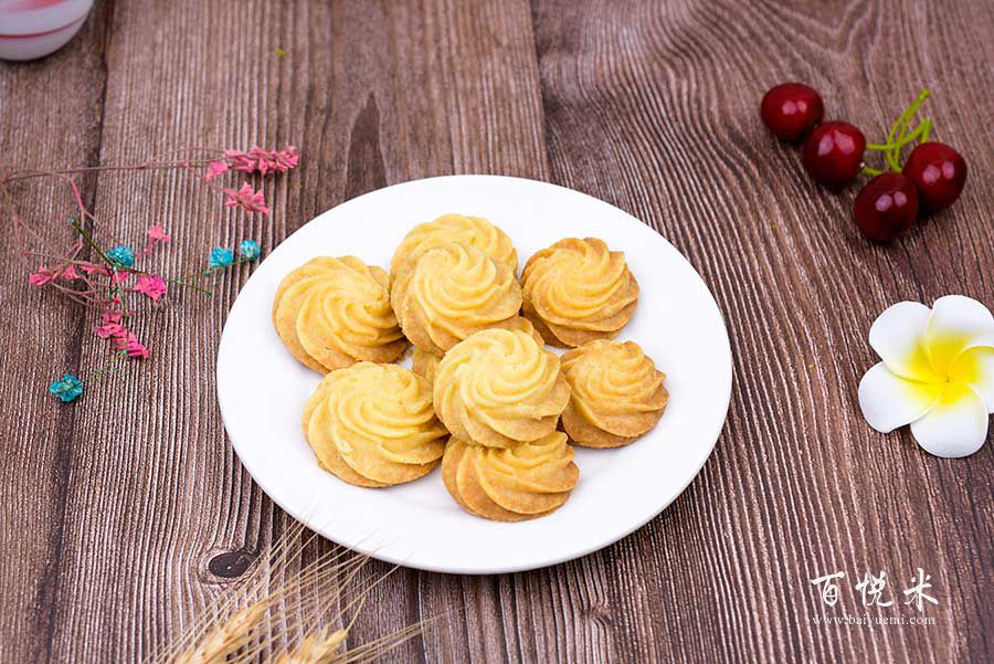 原味曲奇饼干的做法视频大全_西点培训学习教程