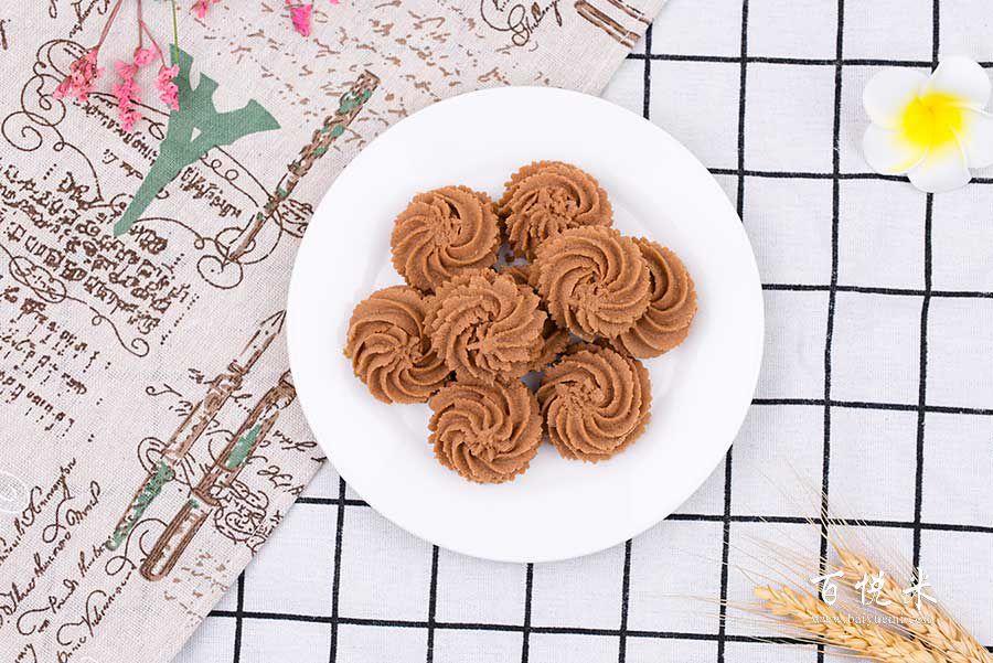 巧克力曲奇饼干的做法视频大全_西点培训学习教程