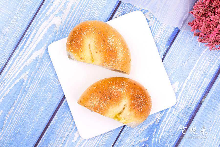 香芋麻薯面包的做法视频大全_西点培训学习教程