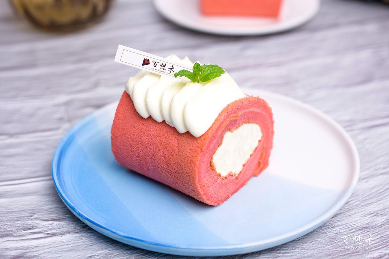 红丝绒蛋糕卷高清图片大全【蛋糕图片】_558