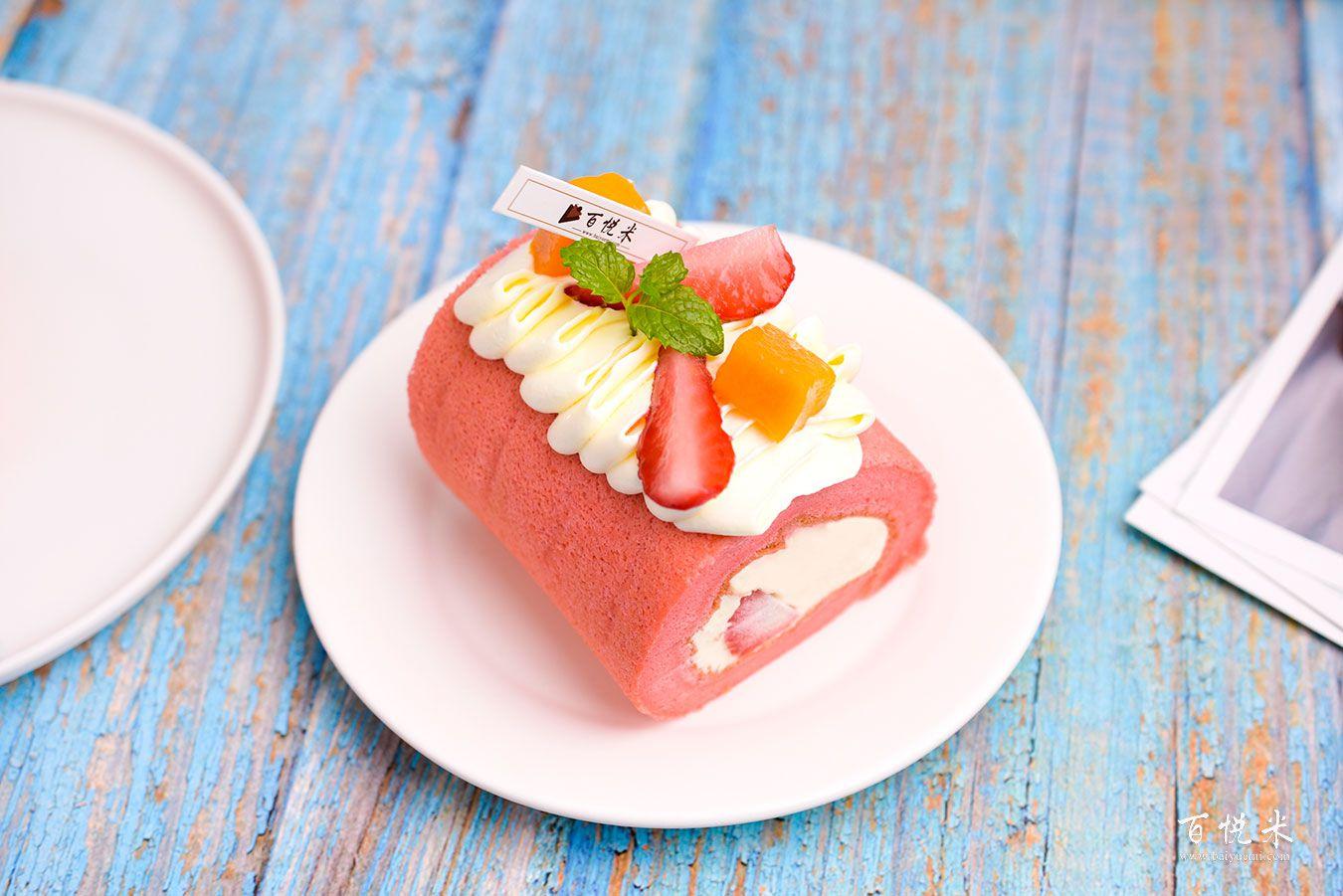 红丝绒蛋糕卷高清图片大全【蛋糕图片】_557