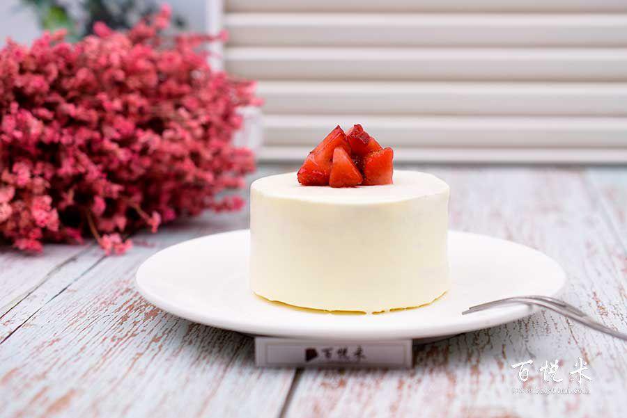 草莓小蛋糕高清图片大全【蛋糕图片】