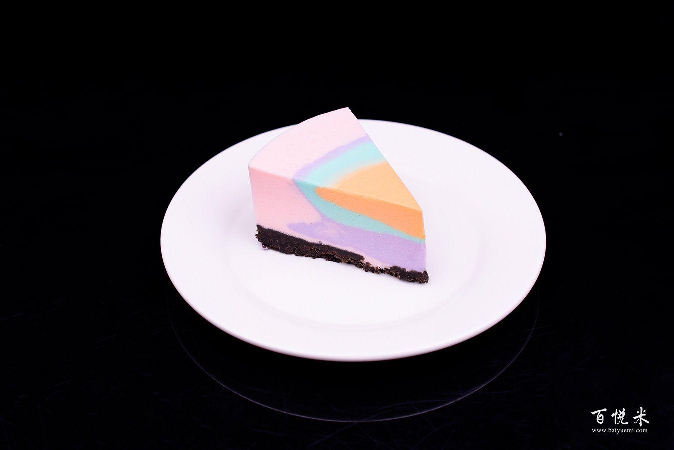 彩虹慕斯蛋糕高清图片大全【蛋糕图片】_668