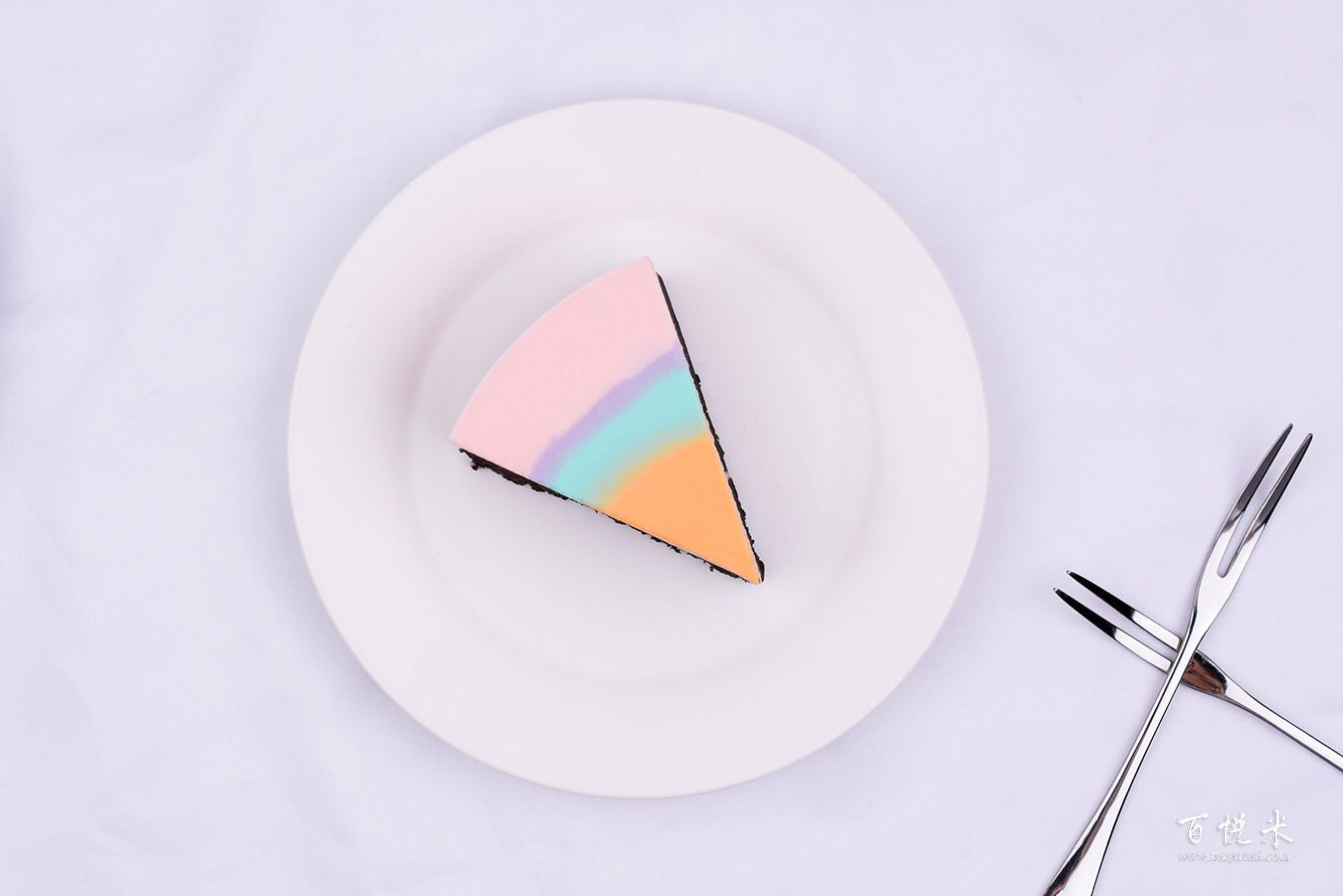 彩虹慕斯蛋糕高清图片大全【蛋糕图片】_670