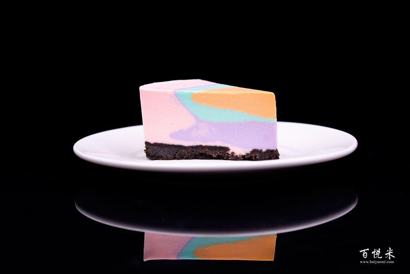 彩虹慕斯蛋糕高清图片大全【蛋糕图片】_667
