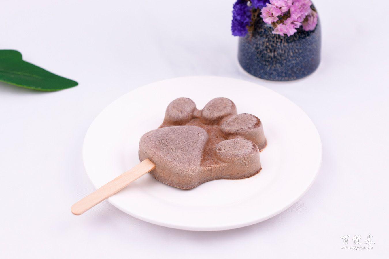 巧克力冰淇淋的做法大全,巧克力冰淇淋西点培训图文步骤详解