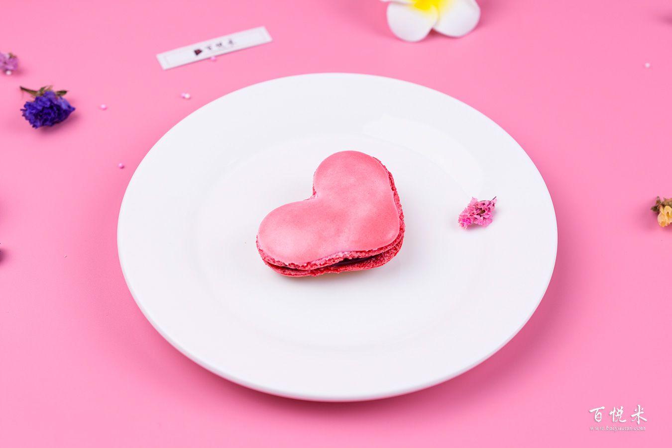 爱心马卡龙高清图片大全【蛋糕图片】_728