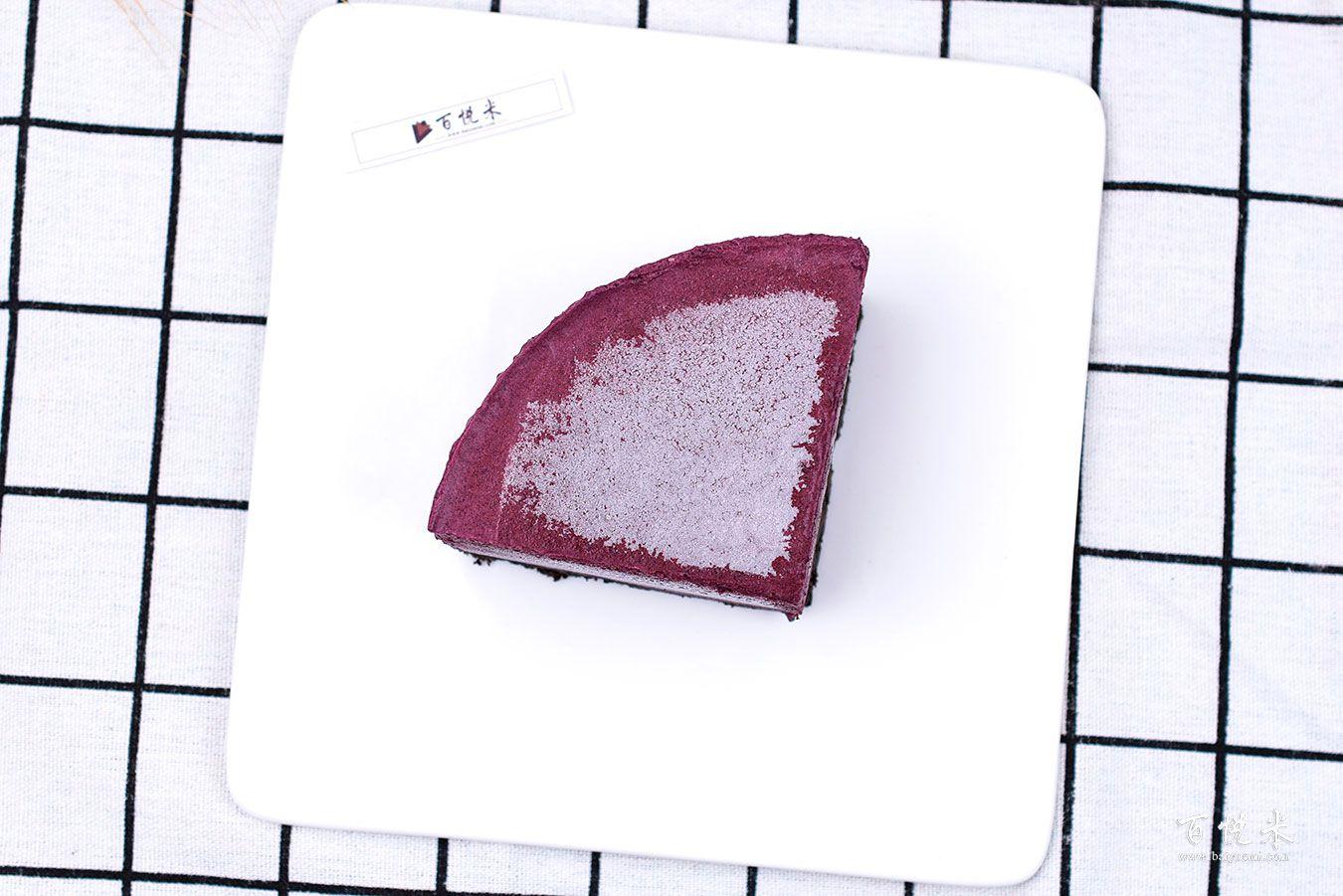 蓝莓慕斯蛋糕高清图片大全【蛋糕图片】_830