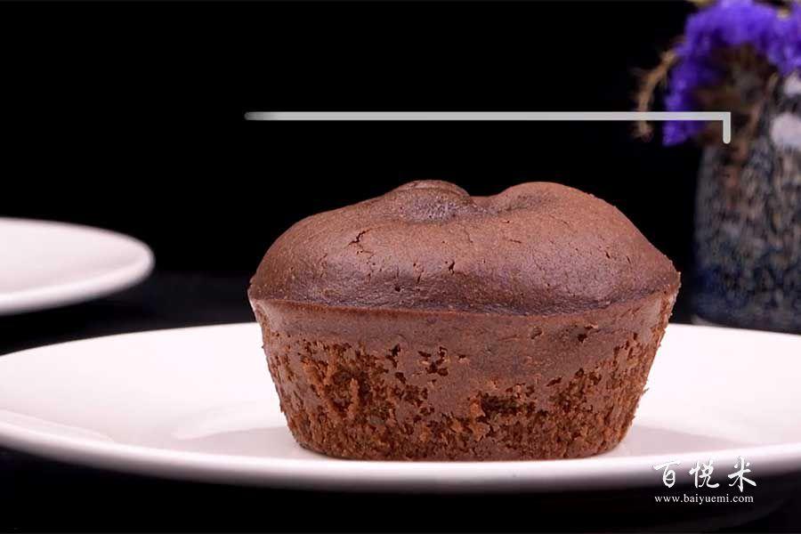 巧克力熔岩蛋糕的做法视频大全_西点培训学习教程