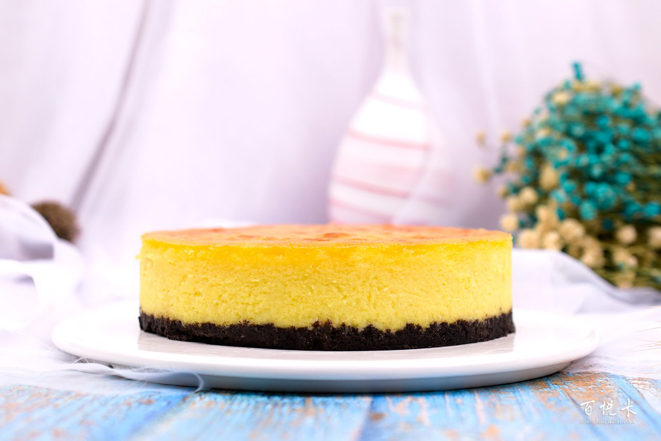 榴莲奶酪蛋糕高清图片大全【蛋糕图片】_824