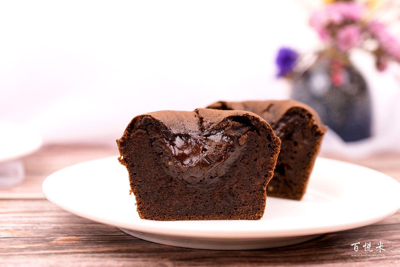 巧克力熔岩蛋糕高清图片大全【蛋糕图片】_842