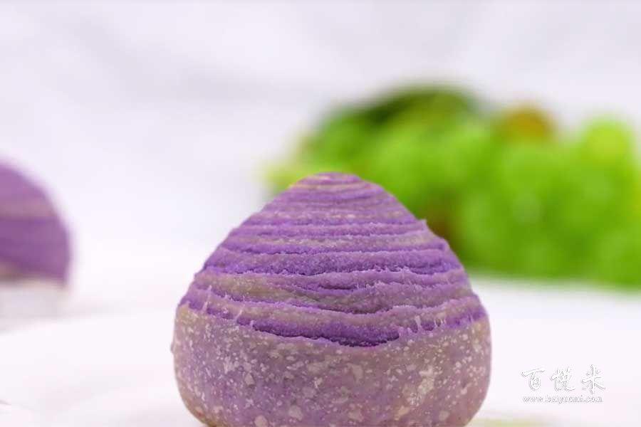 香芋酥的做法视频大全_西点培训学习教程