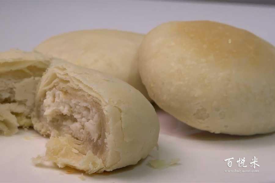 酥皮绿豆饼的做法视频大全_西点培训学习教程