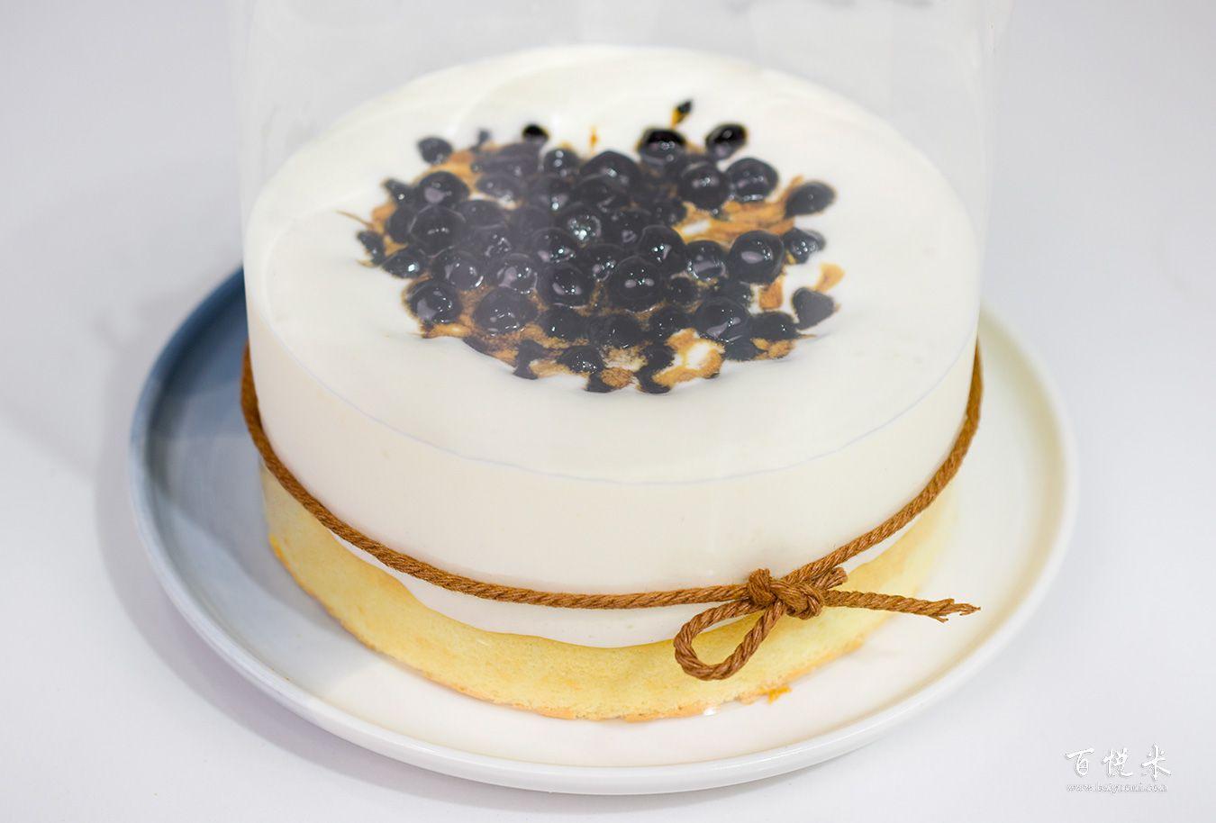 珍珠奶茶云朵蛋糕高清图片大全【蛋糕图片】_882