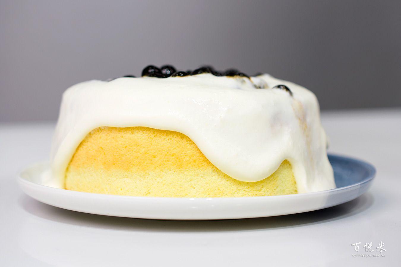 珍珠奶茶云朵蛋糕高清图片大全【蛋糕图片】_886