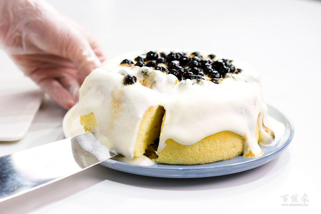 珍珠奶茶云朵蛋糕高清图片大全【蛋糕图片】_877