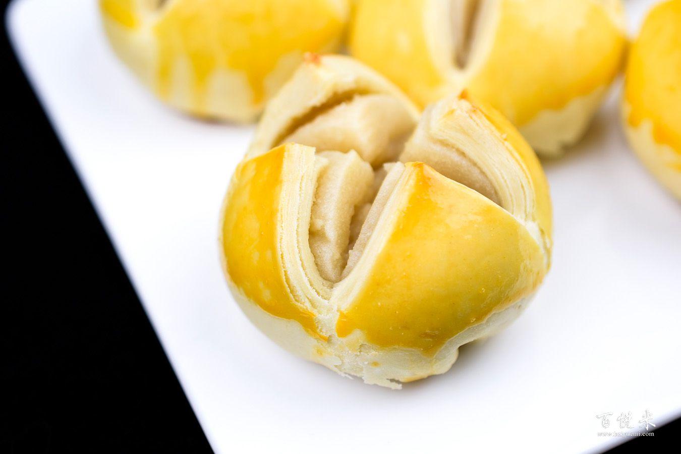绿豆酥的做法大全,绿豆酥西点培训图文教程分享