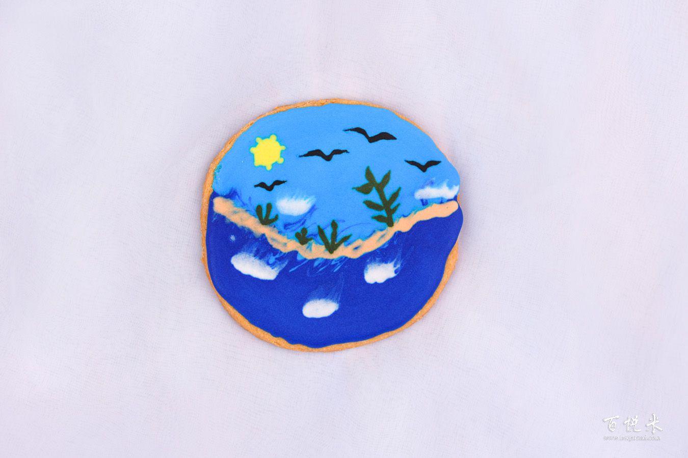 糖霜饼干的做法大全,糖霜饼干西点培训图文教程分享